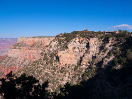 The South Rim of the Grand Canyon in Arizona