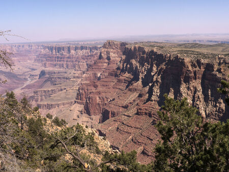 mesas: the South Rim of the Grand Canyon Arizona USA