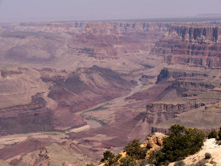 mesas: The South Rim of the Grand Canyon in Arizona