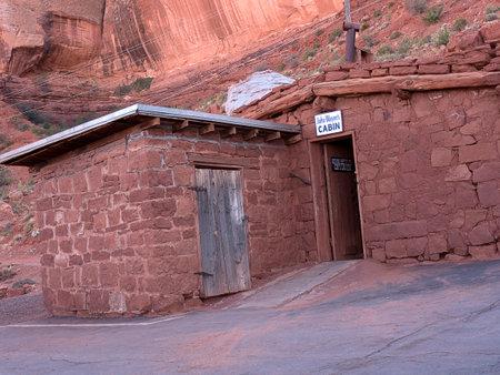 john wayne: John Wayne Museum in Monument Valley Arizona USA Editorial