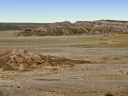 The Painted Desert in Arizona USA Stock Photo