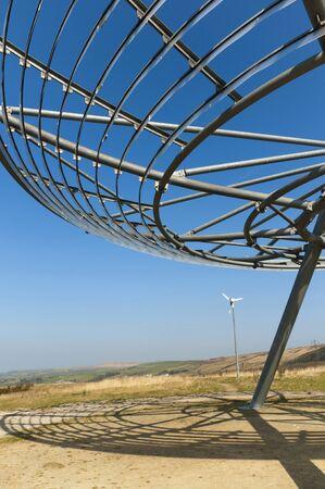 brenda kean: The Halo Public Art Installation on Lancashire Moors Rossendale England
