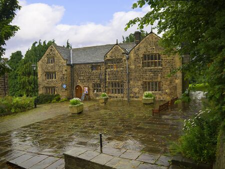 wharfedale: Manor House in Ilkley  a spa town in West Yorkshire, in the north of England
