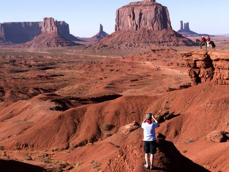 mesas: Photographing at John Ford Point in Monument Valley Arizona USA
