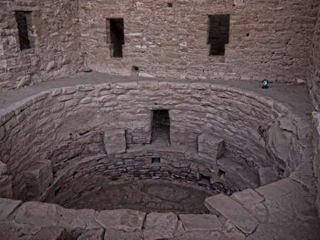 an        verde: Cliff Dwellings in the Mesa Verde National Park Colorado USA.