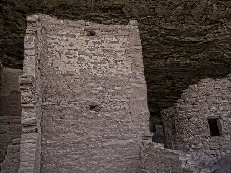Cliff Dwellings in the Mesa Verde National Park Colorado USA.
