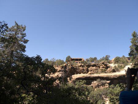 mesa: The Mesa Verde National Park Colorado USA.