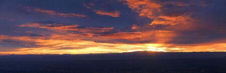 brenda kean: Sunset over Tucson Arizona USA