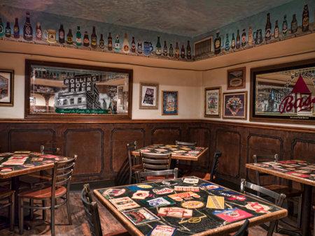 Interessante Pub in Durango Colorado USA Stockfoto - 36544973