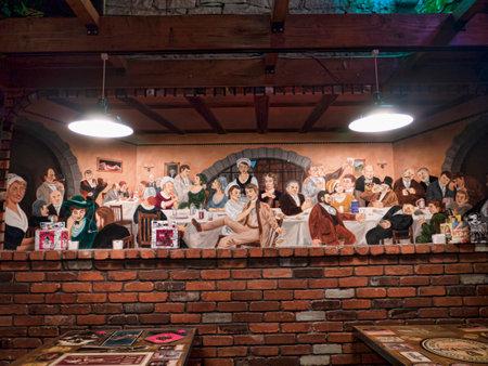 Interessante pub in Durango Colorado, VS.
