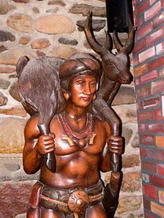 Interessante Pub in Durango Colorado Stockfoto - 36544976