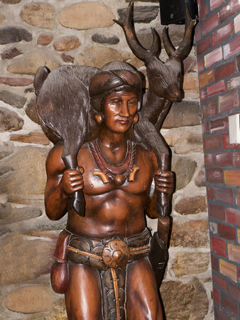Interessante Pub in Durango Colorado Stockfoto - 36544977
