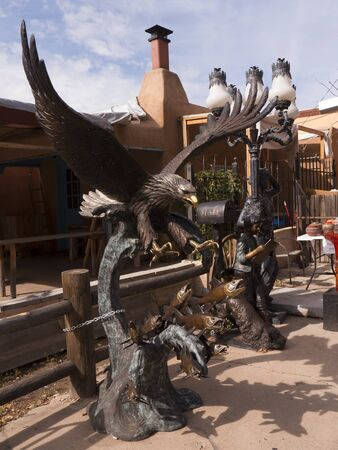 fe: The Creative City of Santa Fe In New Mexico with its multitude of Galleries and Sculpture