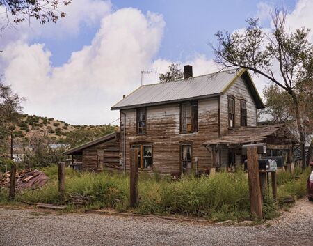 ramshackle: Ramshackle House in Madrid New Mexico USA