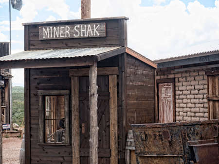 shack: Reprduction Old Miner Shack in Tombstone Arizona