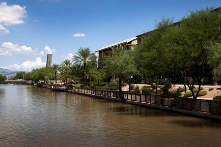scottsdale: River in Scottsdale Arizona USA