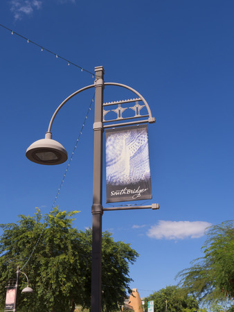 scottsdale: Street in Scottsdale Arizona USA Editorial