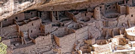 mesa: Cliff Dwellings in the Mesa Verde National Park Colorado USA.