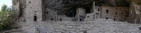 mesa: Cliff Dwellings in the Mesa Verde National Park Colorado USA