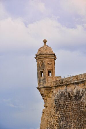 fortifications: Fortifications around the Grand Harbour in Valletta on the island of Malta
