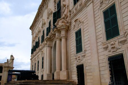 masters: Grand Masters House in Valletta on the island of Malta Editorial