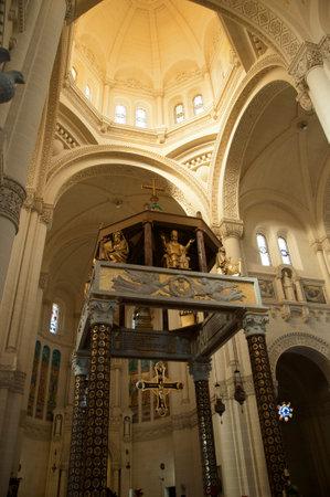mediterranean interior: Church of Ta Pinu on the Maltese island of Gozo
