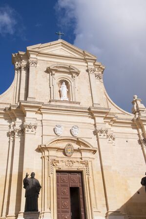 assumption: Gozo Cathedral dedicated to the  Assumption of the Blessed Virgin Mary Editorial