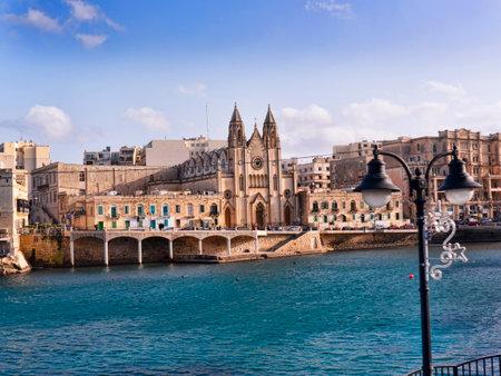 st pauls: Church in St Pauls Bay o nthe island of Malta
