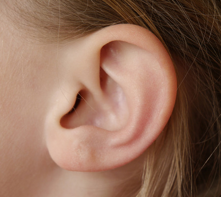 Ear of child