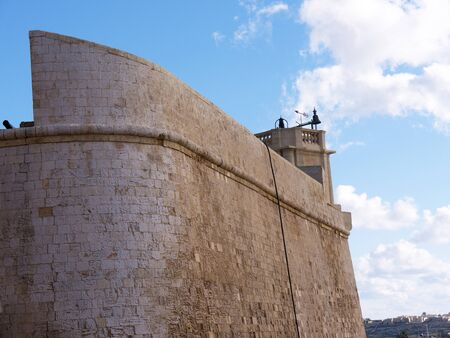 citadel: The Citadel at Victoria on the Maltese island of Gozo