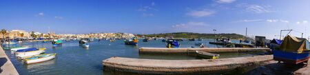 fishingboat: The fishing Harbour of Marsaxlokk on Malta