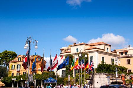 piazza: Piazza Tasso in Sorrento Italy