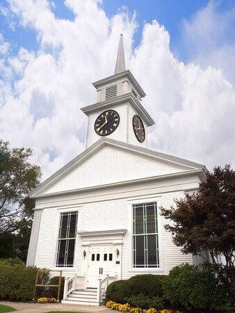 brenda kean: Church in Hyannisport Barnstable Cape Cod Massachusetts USA Editorial