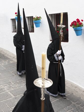 processions: Easter Processions in Mijas Spain
