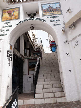 Mijas is one of the most beautiful white villages of the Southern Spain area called Andalucia. It is in the Alpujarra mountains above the coast
