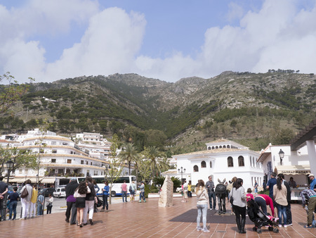 Mijas is one of the most beautiful white villages of Andalucia. It is in the Alpujarra mountains above the coast