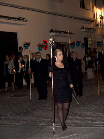 andalucia: Easter Processions in Mijas Andalucia Spain