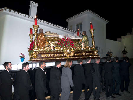 processions: Easter Processions in Mijas Andalucia Spain