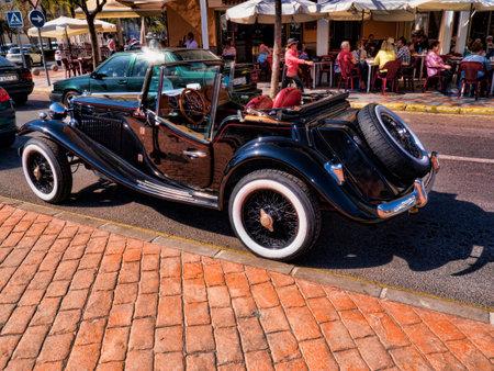sportscar: Sportscar in Fuengirola on the Costa del Sol Spain Editorial