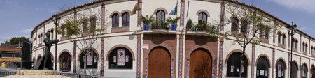 bullring: Bullring in Fuerengirola osta del Sol Spain
