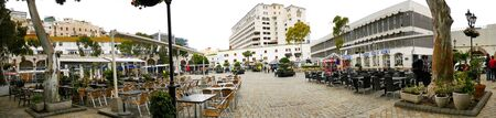 Casemates Square on the Rock of Gibraltar Editorial