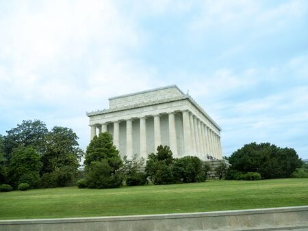 lincoln: Lincoln Memorial Building in Washington DC in the USA