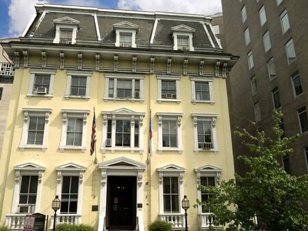 lafayette: St Johns Parish House in Lafayette Square Washington DC