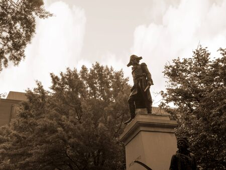 revolutionary war: Statue of Kociuszko was a Polish military engineer and a military leader who became a national hero in Poland, Belarus, and the United States. He fought on the American side in the American Revolutionary War Editorial