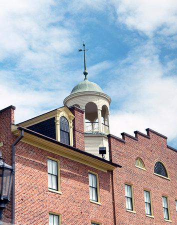 pennsylvania: The Town of Gettysberg Pennsylvania USA Editorial