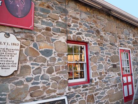 gettysburg: The Town of Gettysburg in Pennsylvania USA