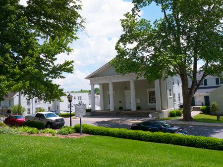philanthropist: Lewisburg Park in West Virginia USA