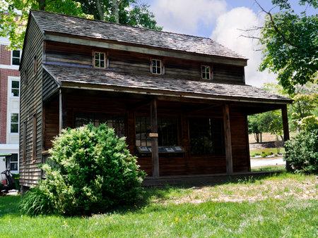 philanthropist: Period House in Lewisburg Park  in West Virginia USA