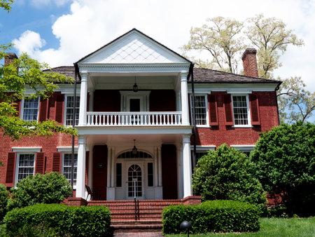 웨스트 버지니아 미국의 루이스 버그 공원에있는 기간 하우스