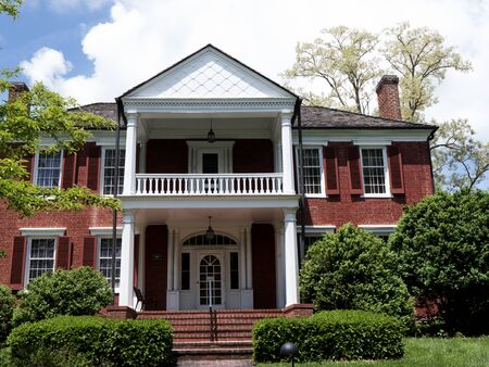 Period House in Lewisburg Park  in West Virginia USA